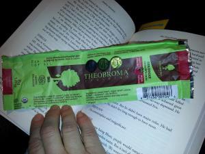 Theobroma Chocolate with Raspberries