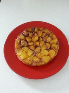 pineapple upsidedown flint rubble bubble cake